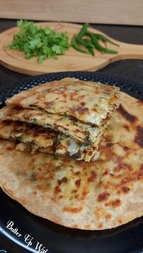 Double Layered Aloo Paneer CheeseParatha